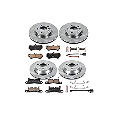 Autospecialty KOE6724 Daily Driver 1-Click OE Replacement Front/Rear Brake Kit: Automotive