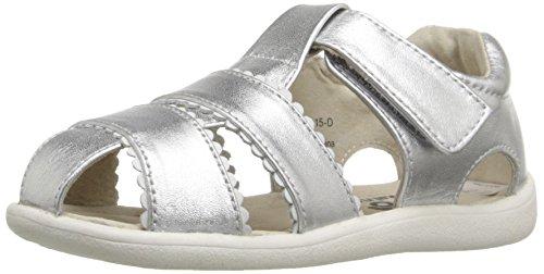 See Kai Run Gloria II Sandal ,Silver,7 M US Toddler