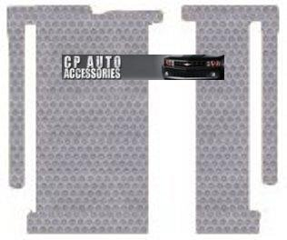 2011 11 2012 12 Light Gray AMS84TG435170||8056GF9Y 2pc Kit Toyota Sienna Custom-Fit All-Weather Rubber Floor Mats 2nd /& 3rd Seat 8 Passenger|Fixed Front Console