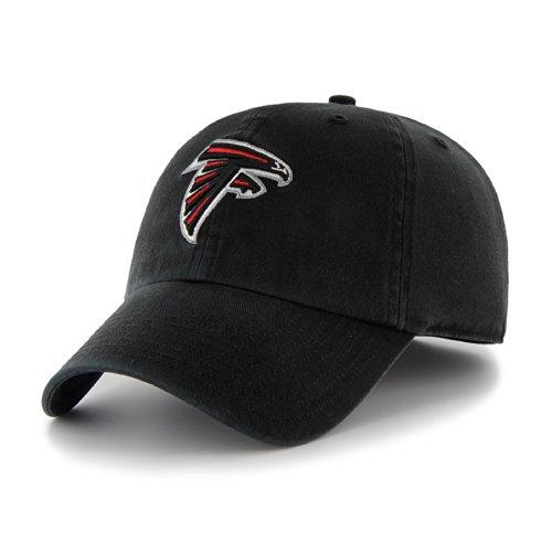 NFL Atlanta Falcons Clean Up Adjustable Hat, Black, One Size Fits All (Team Nfl Hat)