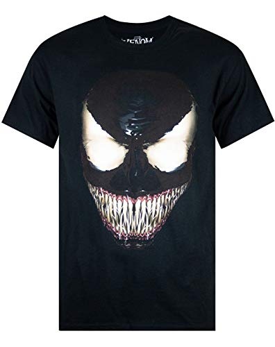 shirt T Venom Face Marvel Men's 354RLcjAq