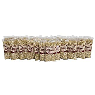 Amish Country Popcorn | 24 (4 Oz Bags) Medium White Kernels | Old Fashioned with Recipe Guide