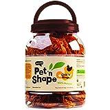 Pet 'N Shape - Chik 'N Rings - 100-Percent Natural Chicken Jerky Dog Treats Tub, 2-Pound