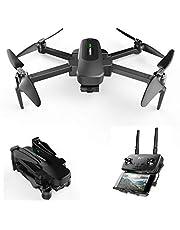 Hubsan Zino Pro GPS FPV Pliable Drone 4K Caméra avec 3-Axes Gimbal 4KM 23 Minutes WiFi APP Contrôle