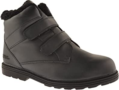 29e74e059f25 totes Men s Waterproof Black Winter Boots - Size 9W