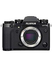 Fujifilm X-T3 Mirrorless Digital Camera, Black (Body Only)