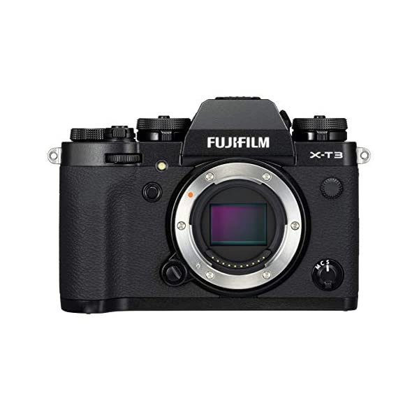 "RetinaPix Fujifilm X-T3 26.1 MP Mirrorless Camera Body (APS-C X-Trans CMOS 4 Sensor, X-Processor 4, EVF, 3"" Tilt Touchscreen, Fast & Accurate AF, Face/Eye AF, 4K/60P Video, Film Simulation Mode) - Black"