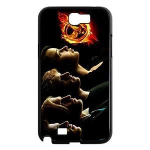 The Hunger Games Four Protagonists Katniss Peeta Mellark Gale Hawthorne Hard Plastic Case Cover for Samsung Galaxy Note 2 N7100 Customed Design Fashiondiy