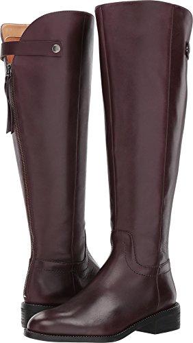 - Franco Sarto Women's Brindley Wide Calf Boot, Dark Burgundy, 7 M US