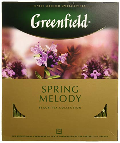 Melody Collection - Greenfield Black Tea Collection Spring Melody 100 Bags