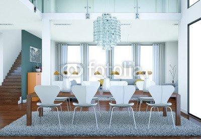 Modern Loft Interior Design 67596093 Poster 60 X 40 Cm