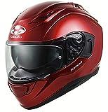オージーケーカブト(OGK KABUTO)バイクヘルメット フルフェイス KAMUI3 シャイニーレッド (サイズ:XL) 584740