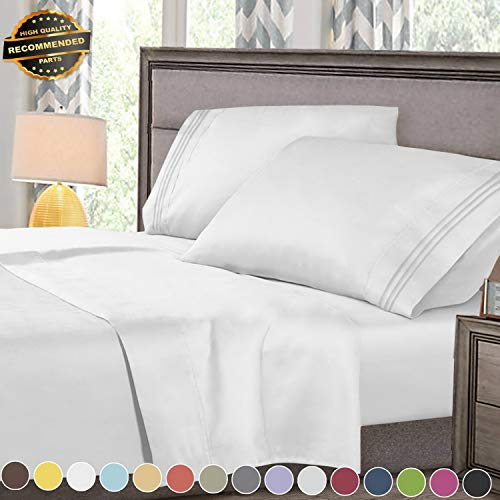 Gatton Premium New Super Deluxe 1800 Count Hotel Quality 4 Piece Deep Pocket Bed Sheet Set | Collection SHSCZ-18212328