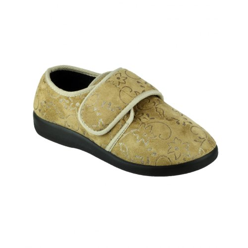 Beige Femme Poole Med Gbs Chaussons qxwg0IAUO