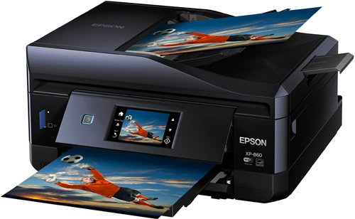 Epson Expression Photo XP-860 Wireless Color Photo Printer with Scanner and Copier