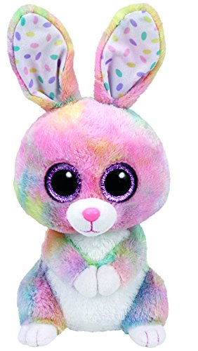 (Ty Bubby Multicolor Bunny Plush, Medium 9)