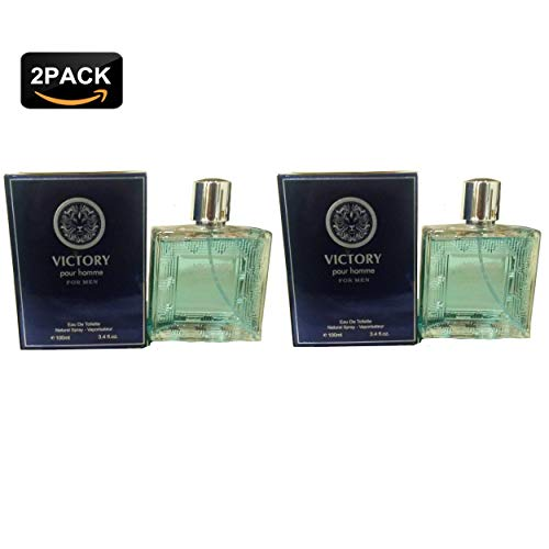 Inspired Versace By (VILLAGE POUR HOMME, Our Version of VERSACE POUR HOMME,Eau de Toilette Spray for Men, Perfect Gift, Classic, Night time and Casual Use, for all Skin Types, 3.4 Fl Oz(Package of 2))