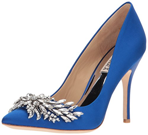 Badgley Mischka Women's Marcela Pump, Sapphire, 8 M US by Badgley Mischka