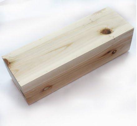 Myl Flexible Rectangular jabón molde de silicona con caja de madera para casero L jabón produce