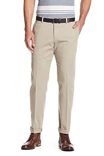 Brooks Brothers Milano Men's Advantage Wrinkle Free Chino Pants (38x32, Beige/Khaki)