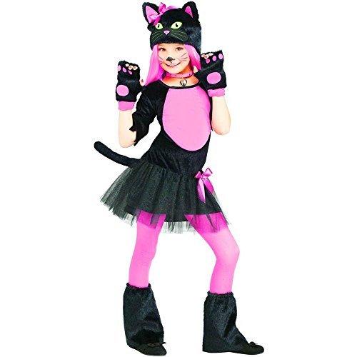 Fun World Miss Kitty Child Costume, Small, Multicolor -