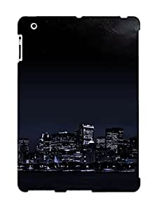 Ellent Ipad 2/3/4 Case Tpu Cover Back Skin Protector Skyline For Lovers
