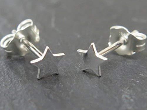 bd2092a27 SALE. Sterling Silver Star Stud Earrings: Amazon.co.uk: Handmade