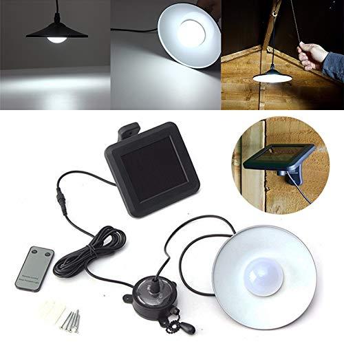 Telecommande New Jinhugu Plafonnier Exterieur Solaire De Jardin Led Plafonnier Suspendu Lampe De Garage Hangar Luminaires
