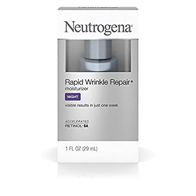 Neutrogena Rapid Wrinkle Repair Anti-Wrinkle Night Accelerated Retinol SA Facial Moisturizer