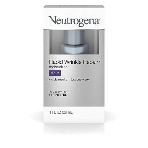 Rapid Wrinkle Repair Anti-Wrinkle Night Accelerated Retinol SA Facial Moisturizer, 2 Bottles (1 fl. Oz)