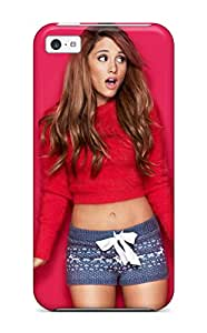 New Snap-on ZippyDoritEduard Skin Case Cover Compatible With Iphone 5c- Ariana Grande