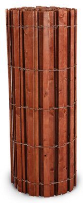 Hanes Geo Components 76550 Snow Fence, Red-Stained Wood & Galvanized Wire, 4 x 50-Ft.