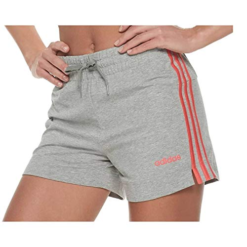 - adidas Women's Essentials 3s Shorts, Legend Ink/White, Small