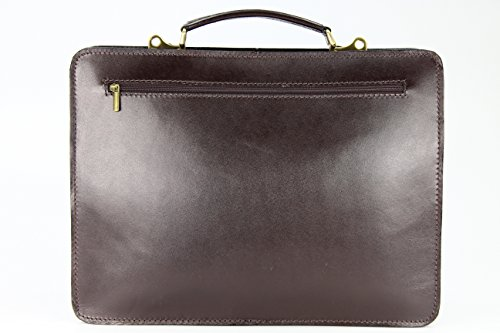 ital Sac en Sacoche Verona unisexe nbsp; Bag enseignants business quot;Design cuir amp;apos Belli XwCIxqHO