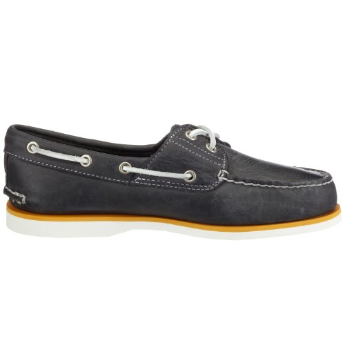 Timberland Schuhe Timberland Classic 2 l Eathy Marine Nr. 40 Boot Mokassin - Zapatillas de casa de cuero nobuck para hombre Azul