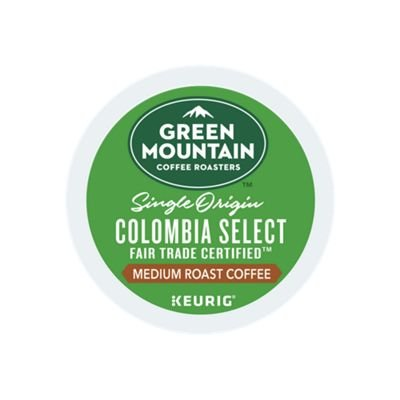 Green Mountain Coffee Colombian Fair Trade Select Keurig Single-Serve K-Cup Pods, Medium Roast Coffee, 24 Count