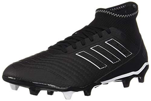 Predator White Cleats - adidas Predator 18.3 FG Men's Soccer Cleats DB2000 - Black, White (7)