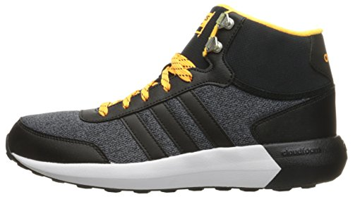adidas NEO Men's Cloudfoam Race Wtr Mid Running Shoe, Black/Black/Solar Gold,  10 M US - Buy Online in UAE. | Shoes Products in the UAE - See Prices, ...