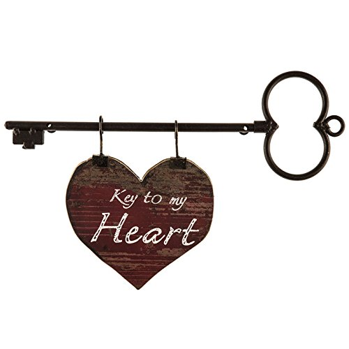 Key to My Heart Metal & Wood Wall Decor - Key Wall Decor