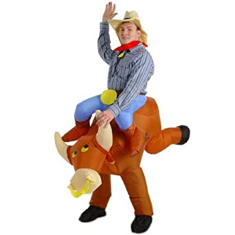The Illusion Bull Rider Adult - Adult Costumes