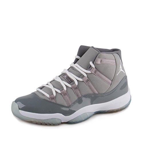 Air Jordan 11 (XI) Retro (Medium Grey / White-Cool Grey) 10 D(M) US