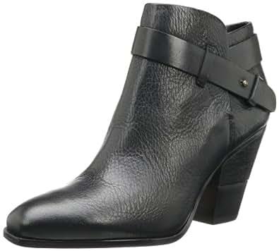 Dolce Vita Women's Hilary Bootie,Black Leather,10 M US