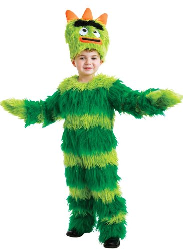 Yo Gabba Gabba Brobee Deluxe Costume Child Toddler 2T for $<!--$49.99-->