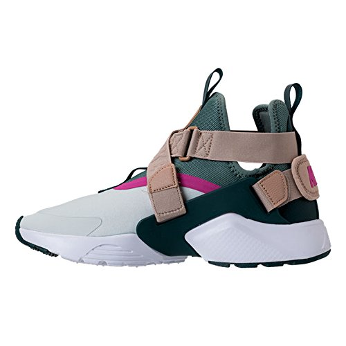 Nike W Lucht Huarache Stad Vrouwen Ah6787-005 Nauwelijks Grijs / Klei Groen-zand