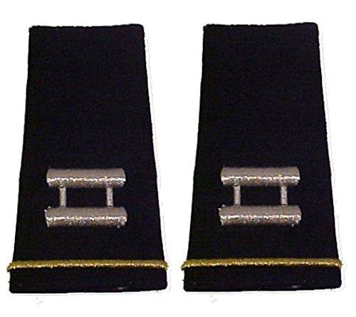 Army Uniform Epaulets - Shoulder Boards O-3 CAPTAIN (Army Uniform Rank)