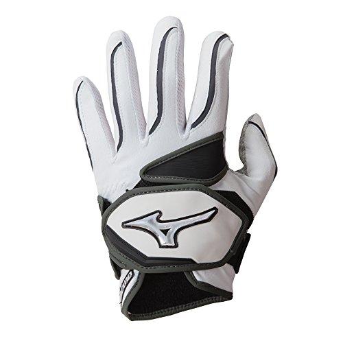 Mizuno NightHawk Adult Women's Fastpitch Batting Gloves - Wh