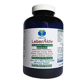 Leber Aktiv mit 9 Bitterstoffen - 360 Stk.