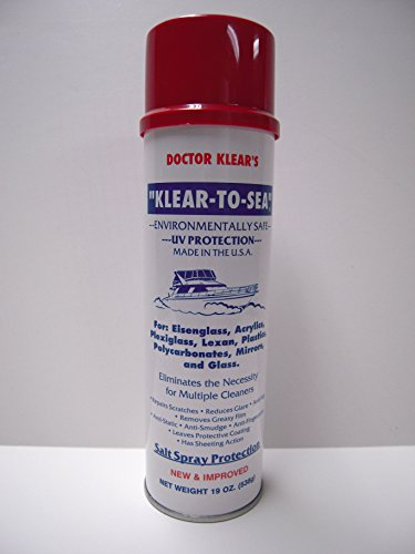 Doctor Klear's Klear To Sea Salt Spray Protection 19 oz. - Glass Doctor Repair Scratch