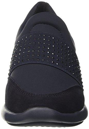 Geox Dame D Ophira En Sneaker Blau (dk Flåde) cKCaBWu