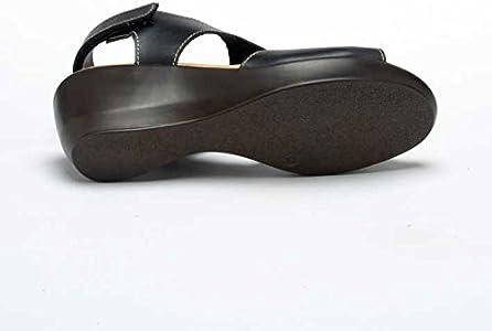 Esscelent Fashion 1203 Sandalias de Piel con Cierre de Velcro Señora Hecho en España: Amazon.es: Zapatos y complementos